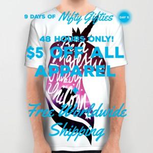 be-like-the-unicorn-all-over-print-shirts copy