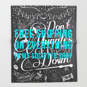 dont-let-the-muggles-get-you-down-throw-blankets copy