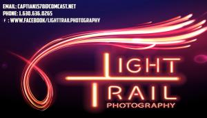 Light Trail Photography Card